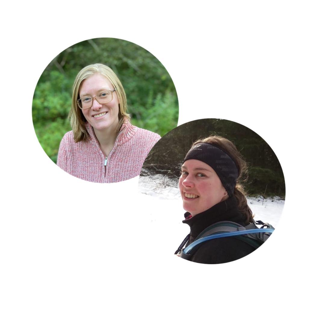 Ausbildung Kursleiter Waldbaden mit Laura Bodden und Katharina Nathe von achtsame Walderlebnisse